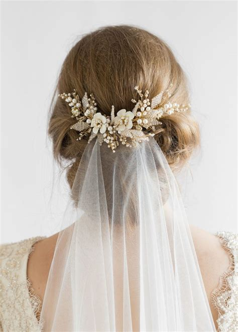 Wedding Hair Combs For Veils wedding veils and headpieces how to create the layered