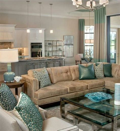 very attractive blue and brown living room 130 best images about brown and tiffany blue teal living