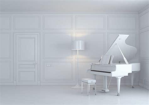 white room white piano room interior design download 3d house