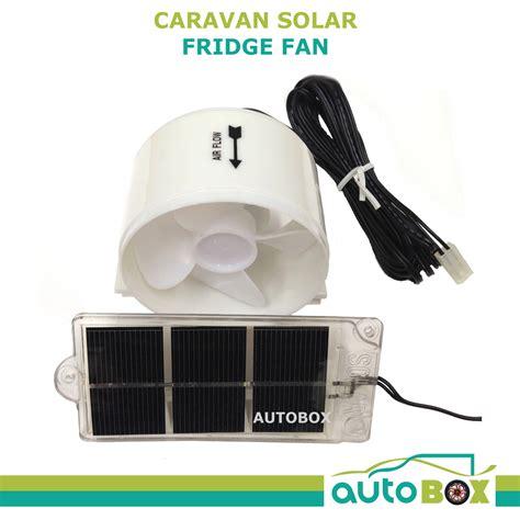 rv solar vent fan caravan solar fridge fan cer trailer boat motorhome rv