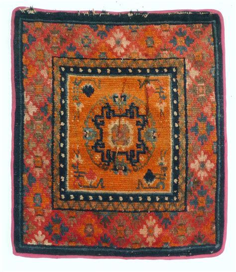 meditation rugs a 19th century tibetan meditation rug mat seat ebay