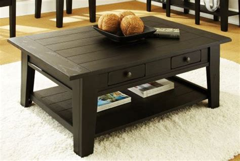 antique black coffee table with storage homefurniture org