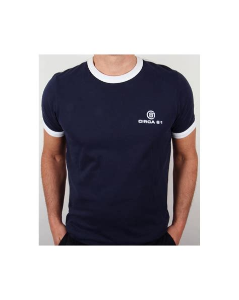 Ringer Navy circa 81 ringer t shirt navy white circa 81 clothing