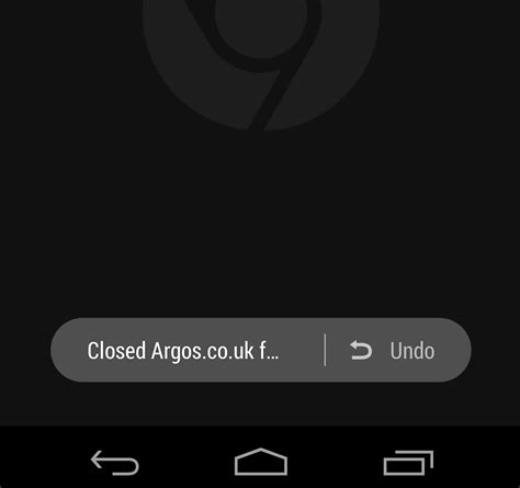 android undo chrome beta for android adds undo tab beginnerstech