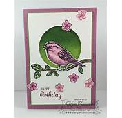 Stampin Up Birds And Handmade Birthday Cards On Pinterest