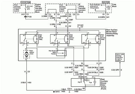 2005 silverado blower motor resistor wiring diagram 51