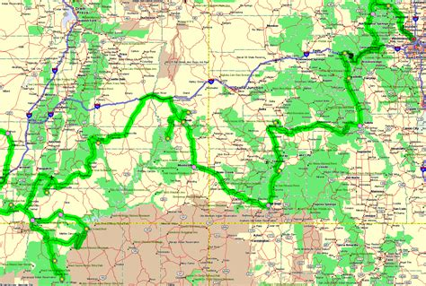 utah arizona map map of arizona and utah new york map