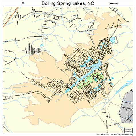 lakes in carolina map boiling lakes carolina map 3706760