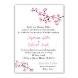100 cards envelopes personalized wedding invitation cherry blossom pink ebay