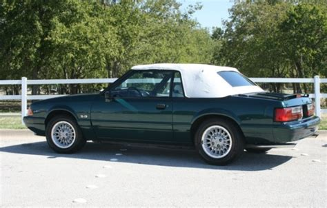 bat exclusive 24k mile 1990 ford mustang 7 up lx 5 0