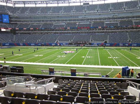 metlife stadium section 149 giants jets metlife stadium section 112 rateyourseats com