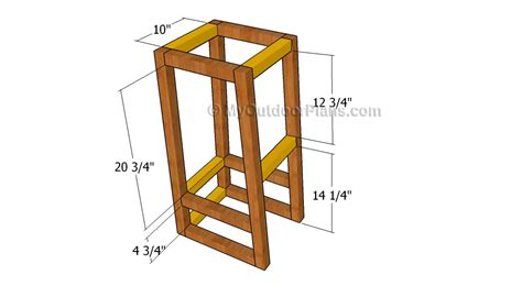wooden bar stool plans pdf plans for wooden bar stools plans free