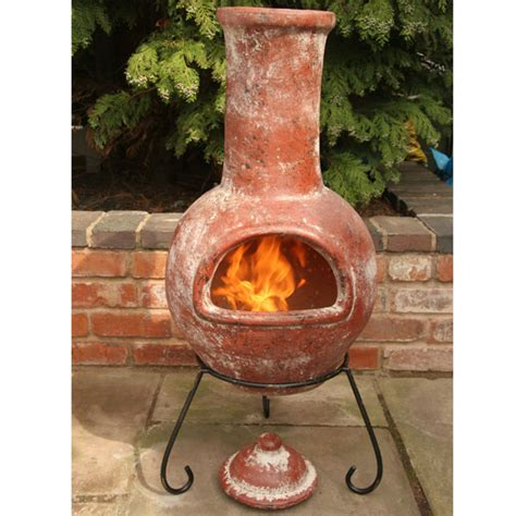 Terracotta Chiminea Outdoor Fireplace deck ideas on deck lighting decks and outdoor