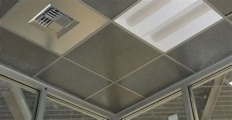 Chicago Metallic Ceilings by Metalscapes Wire And Mesh Ceiling Panels Chicago