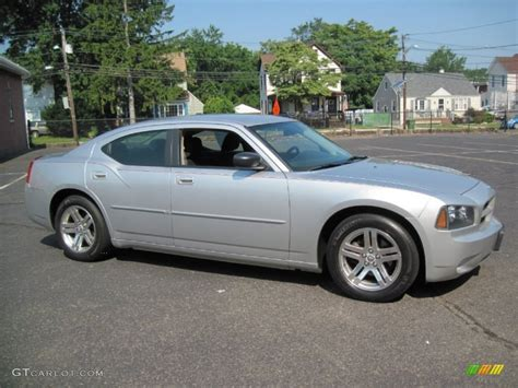 custom silver dodge charger bright silver metallic 2006 dodge charger se exterior
