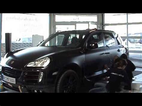 Autofolierung Recklinghausen by Autofolierung Porsche Cayenne Matt Schwarz 45659