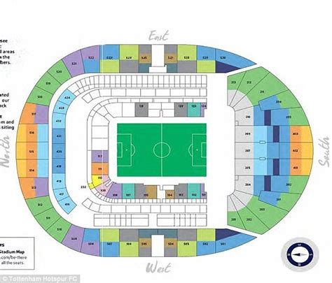 tottenham wembley seating plan away fans tottenham hotspur reveal season ticket prices for their