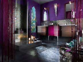Mauve Shower Curtain Bathroom Design Ideas Gallery Chic Bathroom Pictures By