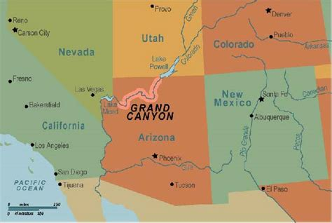 us physical map grand where is the grand on a map grand