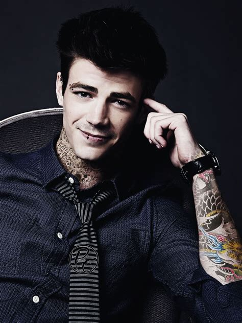 grant gustin tattoo i definitely don t this at all faints the flash