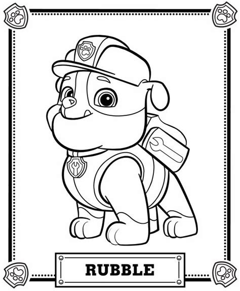 paw patrol happy birthday coloring page happy birthday with a paw patrol coloring pages 4 coloring