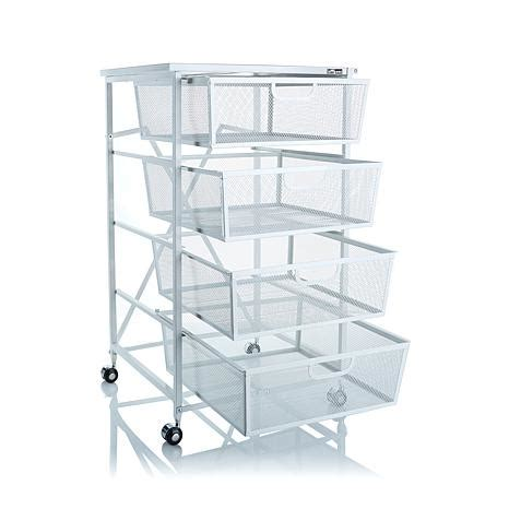 Origami 4 Tier Kitchen Drawer with Shelf   8090500   HSN