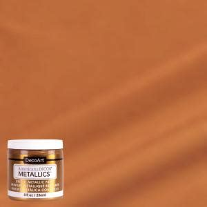 americana decor  oz metallic bronze paint admtl