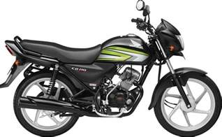 Honda Cd Honda Cd 110 Deluxe With Self Start Launched In