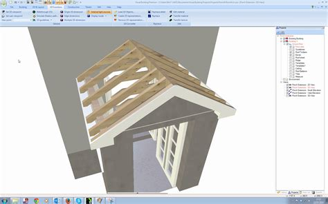 Home Designer Roof Tutorial Visual Building Topic Building A Detailed Porch Roof