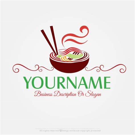 design a restaurant logo online free logo maker noodles logo design logo