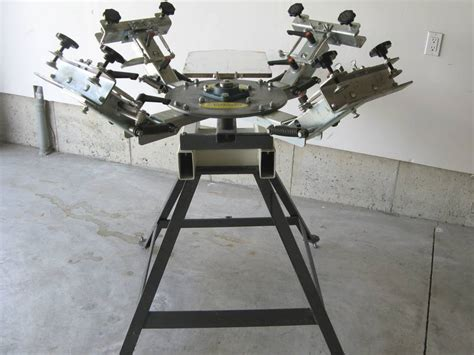 4 color screen printing press new benmar 4 color screen printing press 1000