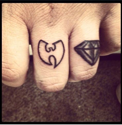 tattoo diamond black and grey wu tang finger tattoo diamond black and grey tattoos