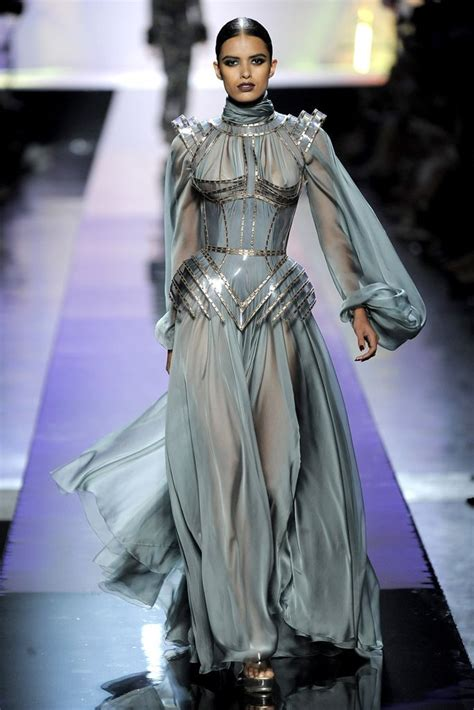 fashion for women age 25 fall 2009 couture jean paul gaultier inspired by the