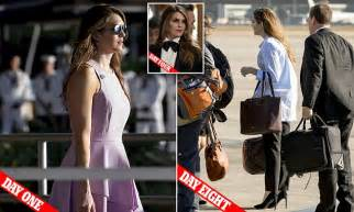 hope hicks flies  vietnam   baggy mens shirt daily