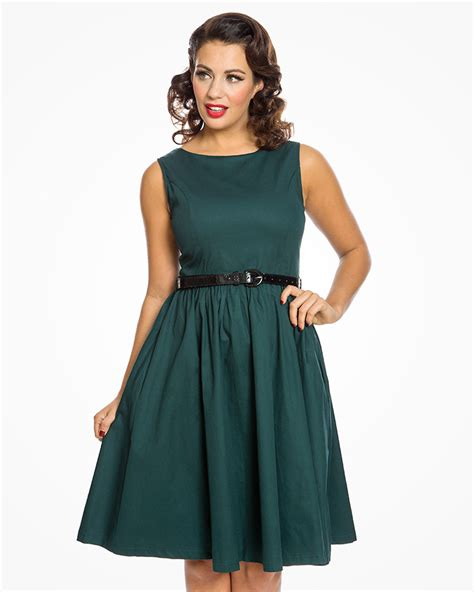 teal swing dress audrey dark teal swing dress