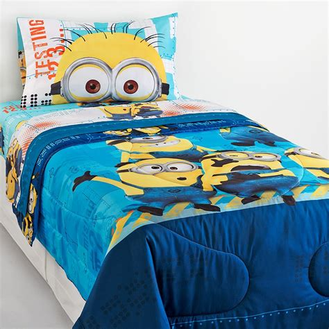 despicable me bed set home furnishings we are crushing on home