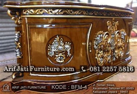 Bufet Tv Meja Tv Bunga Mawar bufet pajangan pendek paluna mawar arif jati furniture