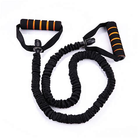 Elastic Rubber Stretch Rope Pilates Limited 120cm pull rope elastic bands for fitness rope