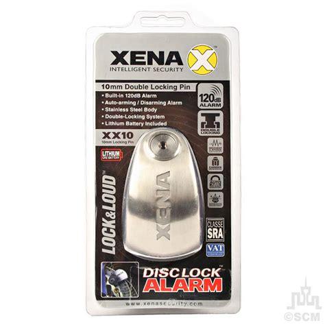 Alarm Xena xena alarm disc lock s stell 10mm motorcycle