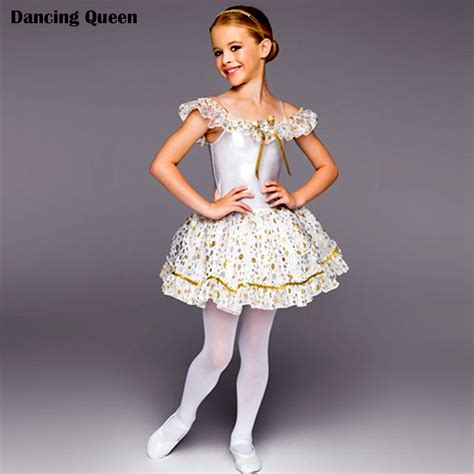 2015 white swan lake ballet tutu dress ballerina