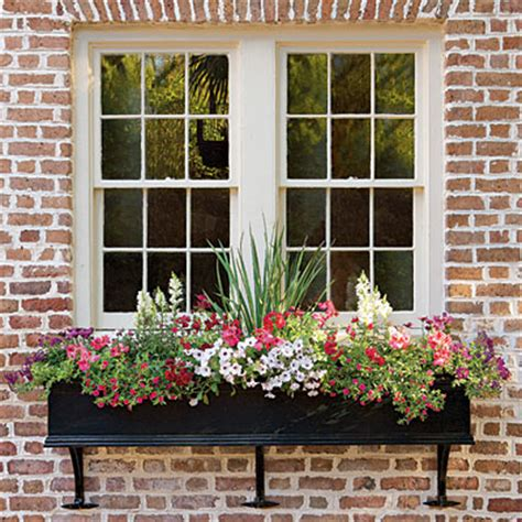 Cottage Window Boxes by Cottage Flavor Window Boxes Abloom