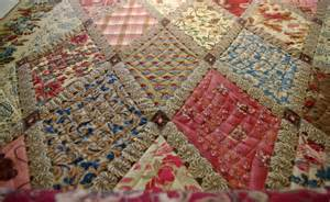 quilts on bastings on the machine at the moment