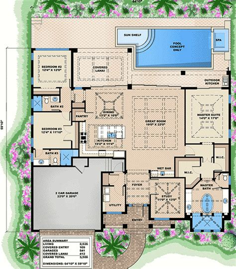 west indies house plans 3 bed west indies house plan 66318we 1st floor master