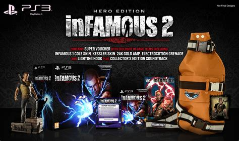 Bd Ps3 Infamous 2 infamous 2 pal release date confirmed 8th 10th june playstation europe