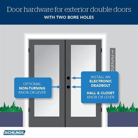 choose door locks  french doors  images