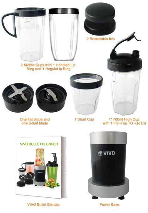 Blender Vivo 11pc 900w pro vivo blizzard multi vegetable fruit blender