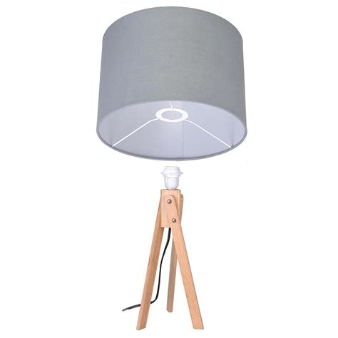 bedroom light stand modern tripod table desk floor l wood wooden stand home