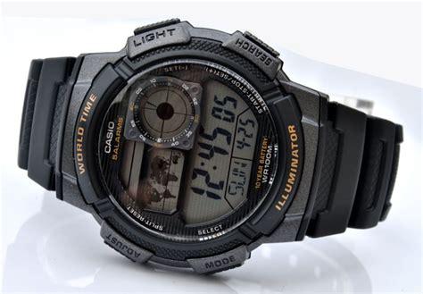 Casio Original Pria Ae 1000w 1a Standard Digital Harga Termurah casio ae 1000w 1av world time end 9 1 2015 2 00 am