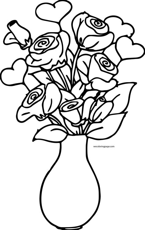 a breath of fresh flowers coloring book books coloring pages roses a vase shining design flower vase