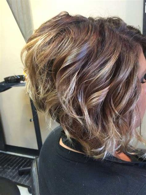 Medium Stacked Hairstyles by Medium Length Stacked Bob Hairstyles Back View